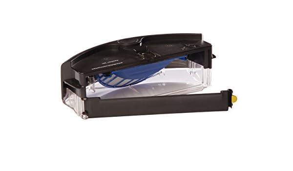 ASP ROBOT Depósito de filtros AEROVAC para iRobot Roomba 680 Serie 600. Recambio ORIGINAL CAJÓN DE RESIDUOS CAJA repuesto compatible para aspirador irobot ...