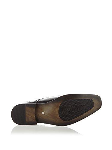 galax , Chaussures de ville à lacets pour homme noir Schwarz