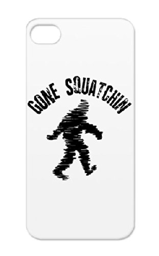 Gone_squatchin__0001 TPU Dirtproof Organization Sasquatch Scary Squatchin Yeti Squatching Bobo Monster Mysteries Trucker Big Animal Woodsbooger Wildlife Animals Nature Foot Bigfoot Beasts Gone Sashquach BFRO Forest Lochness Planet Research Black Case For