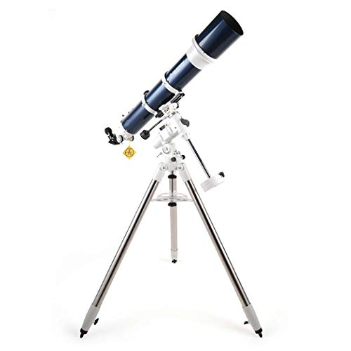 GGPUS Telescope for Kids Adults Astronomy Beginners, Refractor Telescope for Astronomy with Tripod, Finder Mirror 6X30, Focal Length 1000Mm, Limit Star 12.9