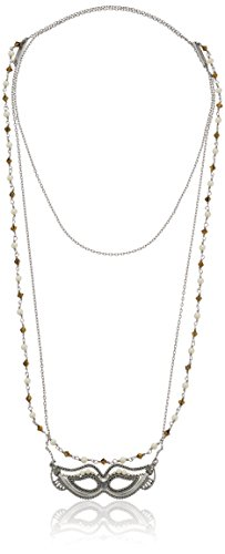 Marc Jacobs Wrap - Marc Jacobs Charms Double Wrap Mask Necklace, 46