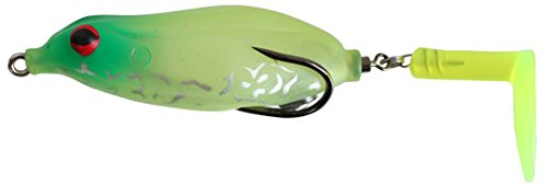 Teckel Sprinker Frog Topwater Lure (Lemon Lime) For Sale