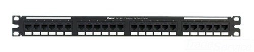 Panduit NK5EPPG24Y Category-5E 24-Port Flat Punchdown Patch Panel