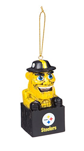 Team Sports America 3OT3824MAS Pittsburgh Steelers Mascot Ornament]()