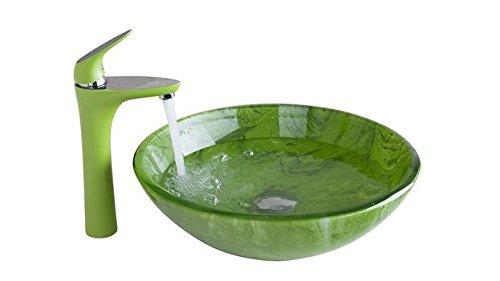 GOWE Wash Basin Faucet+Bathroom Sink Washbasin Chrome Hand-Painted Lavatory Bath Combine Set Faucet,Mixer Tap 2