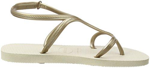 Havaianas Sandalen Damen Allure Beige (Beige 0121)