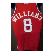 Signed Williams, Brian (Los Angeles Clippers) authentic Los Angeles Clippers jersey size 44 on the back in black ink on the number. autographed