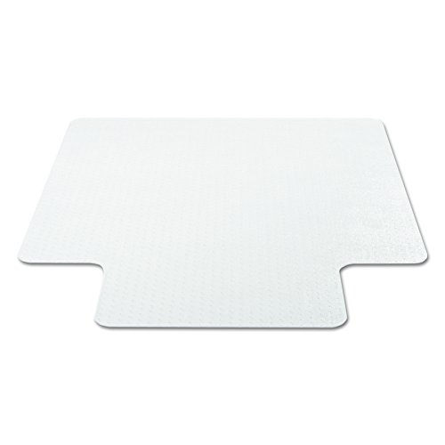 deflecto CM11112 36 x 48 w/Lip Clear EconoMat Occasional Use Chair Mat for Low Pile by Deflect-O (Image #9)