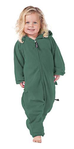 Forever Lazy Kids Onesie - Robin Hoodie Green - S