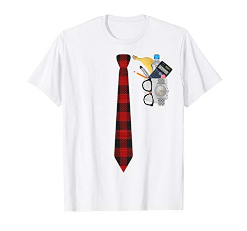 Halloween Nerd Costume T Shirt Funny Geek XO4U Original ()