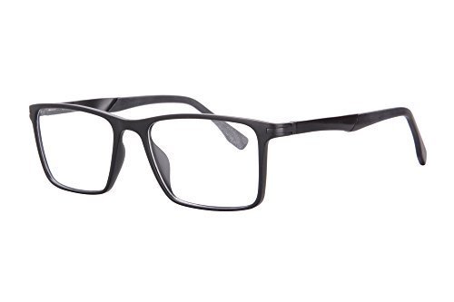 ec78cafbae SHINU Men s Progressive Multifocus Blue Light Blocking Anti-fatigue Reading  Glasses-SH032(matt black