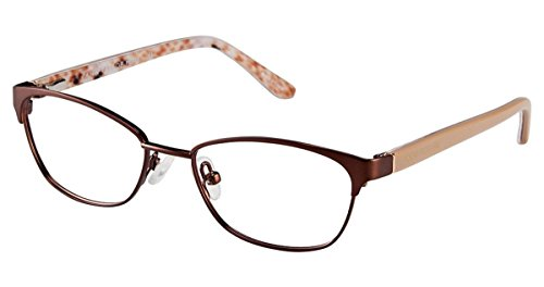 Ann Taylor ATP704 Eyeglass Frames - Frame MATTE BROWN Size 4615mm