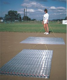 Baseball Infield Drag Mat 6 ft x 2 ft. by Track and Field Emporium