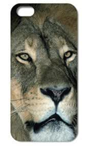 Fashion The Lion Pattern Protective Hard Case Cover For iPhone 5 5S #094