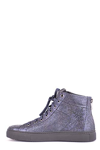 Leather Stokton Sneakers Mcbi494003o Hi Blue Women's Top Fttwqpr
