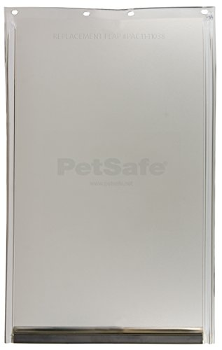 Freedom Aluminum Dog Door - PetSafe Dog and Cat Door Replacement Flap, Medium, 8 1/8