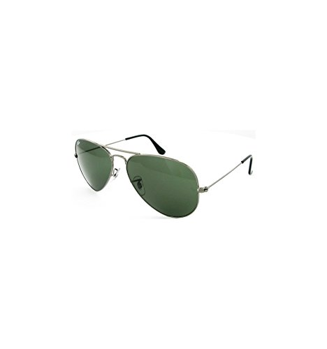 Ray-Ban RB3025 Classic Aviator Sunglasses, Green Classic - Rb3025 Ray 58mm Ban
