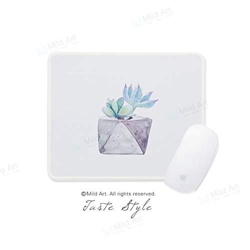 Fiesta Acuarela Plantas verdes Cactus Kawaii Estilo nórdico Hogar Regalos creativos personalizados Ordenador portátil...