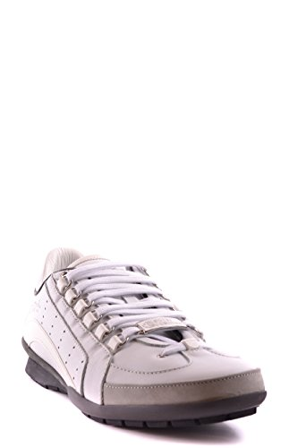 Dsquared2 Hombre S16SN4347131062 Blanco Cuero Zapatillas
