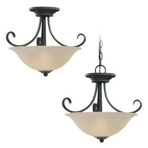 Sea Gull Lighting Copper Outdoor Pendant - 9