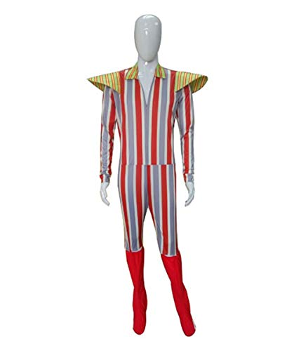 HalloweenPartyOnline Adult Mens Costume for Cosplay David Bowie Ziggy Stardust HC-041