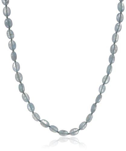 Sterling Silver Milky Aquamari