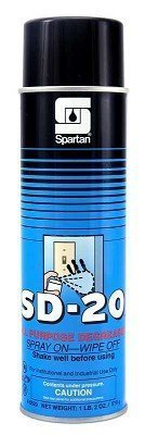 (Pack of 4) SD-20 All Purpose Degreaser 1 lb 2 oz/ 510g, Spray on-Wipe Off