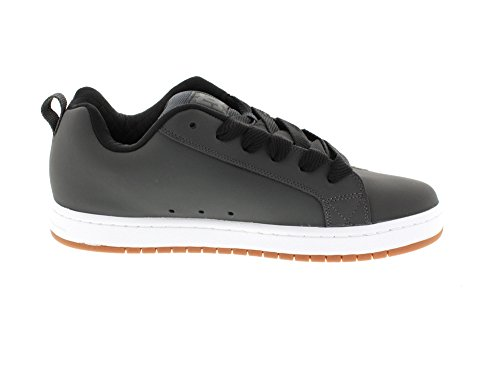 DC Apparel Court Graffik S M Shoe gyb, Herren Sneaker Grau - Grau (Grey/Black GYB)