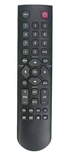 New 06-520W37-E003X Remote Control Fit for TCL LED HDTV 40FD2700 48FD2700 23F3300 28D2700 32B2800 32D100 32D2700 40D100 49D100 LE32FHDE3010 LE39FHDE3010 LE40FHDE3010 LE48FHDE3010 LE50FHDE3010
