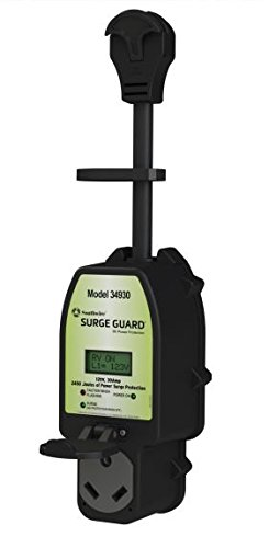 Southwire 34930 Surge Guard 30A - Full Protection Portable with LCD Display, Black by Southwire (Image #1)