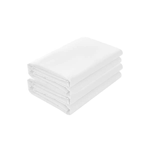 Basic Choice Flat Sheets 2000 Series (2 Pack) topbestbedding.com