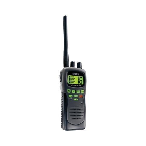 Uniden Atlantis 250-Bk Handheld Vhf 2-Way Marine Radio