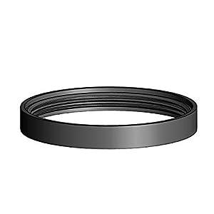 """Articolo fumisteria Linea """"Pellet"""": set n° 3 guarnizioni in silicone nero resistente fino a 220°, ø 80 mm 9 spesavip"""