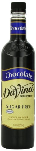 (DaVinci Sugar Free Chocolate Syrup 750ml Plastic Single Bottle,25.4 Fluid ounces (Pack of 3))