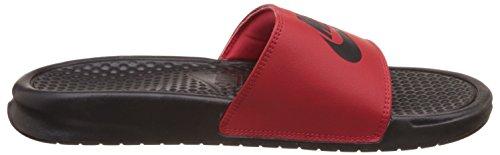 Missmatch Mens 600 Nike M 15 818736 Benassi D University JDI Sandals US Black Red gtRSRqnw