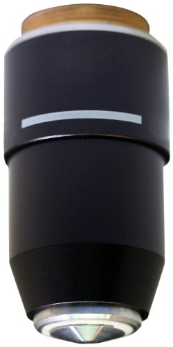 National Optical 799-160ASC 100XR DIN Super High Contrast Objective Lens, N.A. 1.25, For 160 and 210 Microscope by National Optical