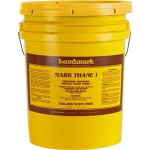 Floor Finish 5 Gallon Pail - Lundmark Wax COM-3293G05 Markthane I Floor Finish 5 gallon Pail