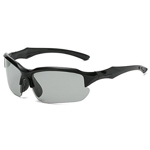 Manejar de de Gafas Movimiento Fiesta Playa al Polarizador Aire UV400 Anti de cambiantes Bre Espejo Gafas de Sol polarizadas Libre Bicicleta Sol de Ejercicio Montar CcwcqZBxPv