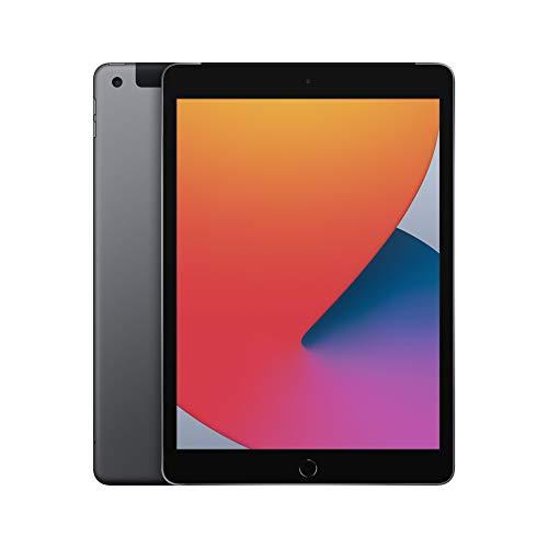 2020 Apple iPad (10.2-inch, Wi-Fi + Cellular, 32GB) – Space Grey (8th Generation)