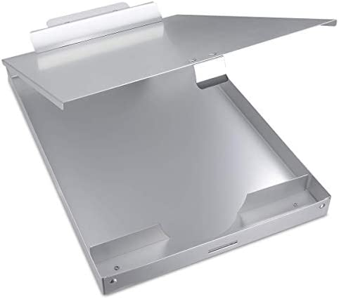 Aluminum Clipboard Storage Capacity Locking