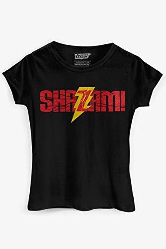 Camiseta Shazam Logo Oficial Feminina