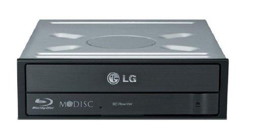 LG BH16NS40 Interner Blu-ray Brenner (16x Speed, umfassender Formatunterstützung) schwarz