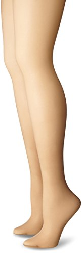 Just My Size Women's Smooth Finish Regular Sheer Toe Panty Hose, Nude, 4X (Just My Size Pantyhose Sheer Toe)