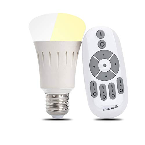 iThird Remote Control LED Light Bulbs Dimmable