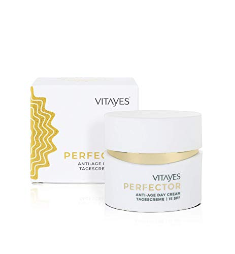 Vitayes Perfector Day Cream Facial Moisturizer with 15 SPF, 24-Hour Moisture, Intensive Care with Anti-Aging Effect