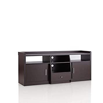 24 7 Shop at Home 247SHOPATHOME HFW-1550C4 Television Stands, Walnut