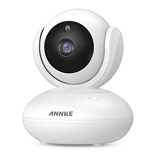 ANNKE 1080P Wireless Camera, Indoor Pan/Tilt Home Security Camera, Baby/Pet  Monitor, Free APP Motion Detection Alert, Two-Way Audio, Plug & Play,