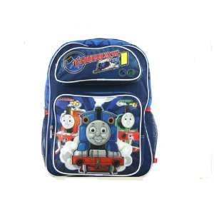 Thomas the Tank Engine School Backpack – No 1 Thomas Backpack (Full size), Bags Central