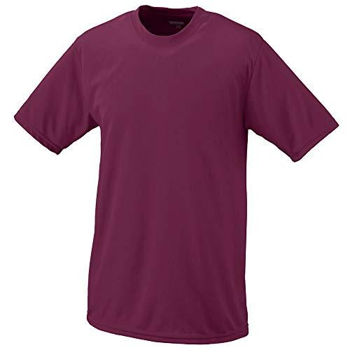 Augusta Sportswear Boys Wicking T-Shirt, Small, Maroon
