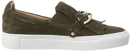 200 200 Slip Baskets Femme Gry green Suede Pavement on Vert 4PAFnqx